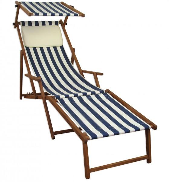 10 317 f kh s chaise longue h tre noir avec repose pieds for Chaise longue avec repose pied