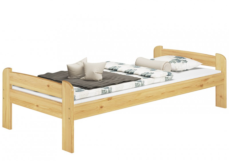 letto singolo a futon per ragazzo 90x200 pino senza rete doghe or ebay. Black Bedroom Furniture Sets. Home Design Ideas