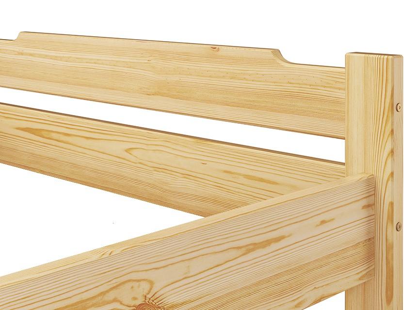 einzelbett jugendbett kiefer futon 100x200 cm bettgestell g stebett or ebay. Black Bedroom Furniture Sets. Home Design Ideas