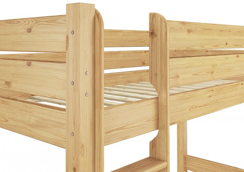 Puppenwagen Holz FUr 2 Jährige ~   Etagenbett extra stabil 90×200, Nische 100 cm, mit 2 Rollroste  eBay