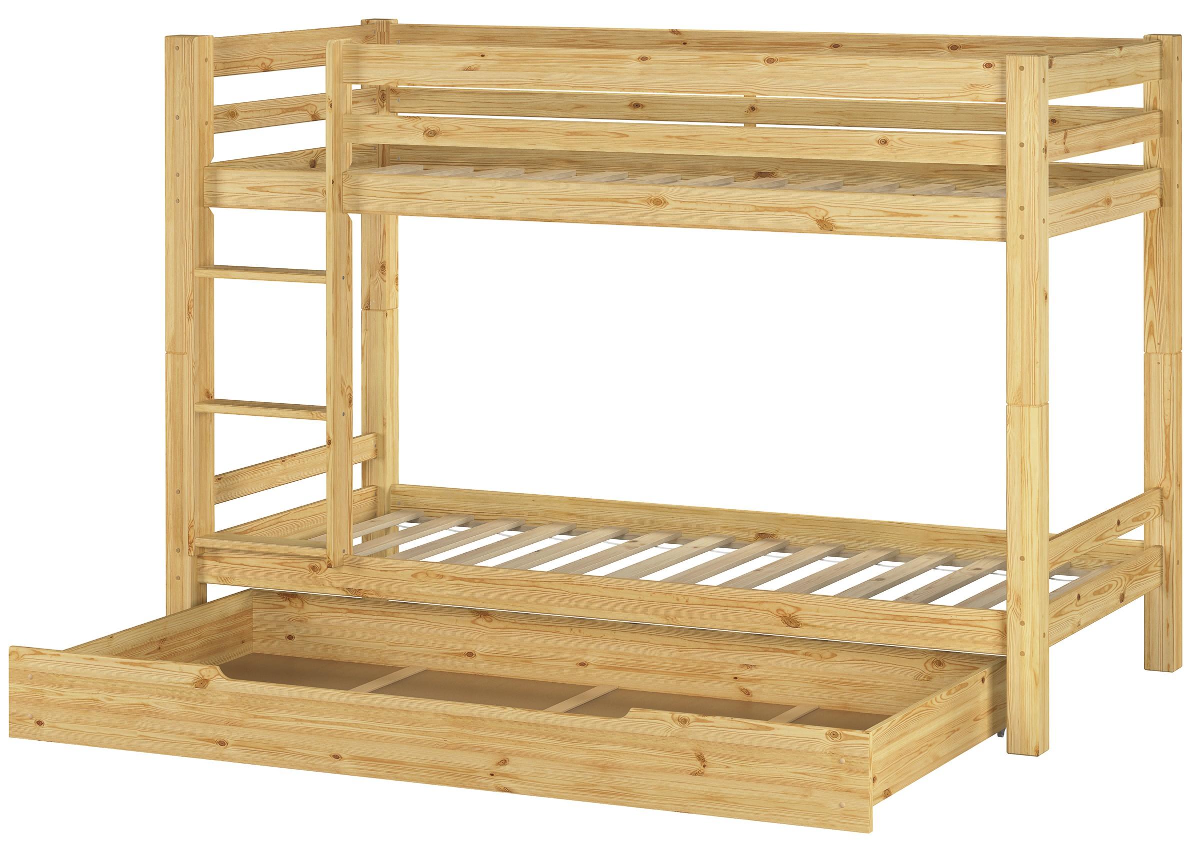 lits superpos s lit superpos jeu pin 90x200 wobbler caisse sommier de lit ebay. Black Bedroom Furniture Sets. Home Design Ideas