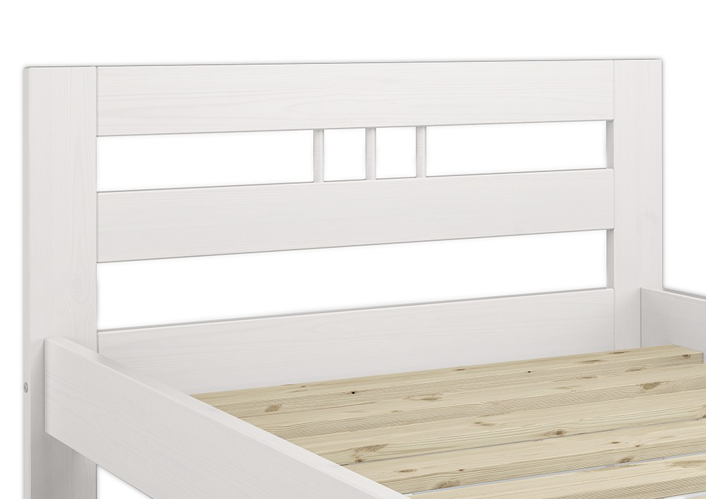 kinderbett wei futon bett kiefer 90x190 einzelbett lattenrost w. Black Bedroom Furniture Sets. Home Design Ideas