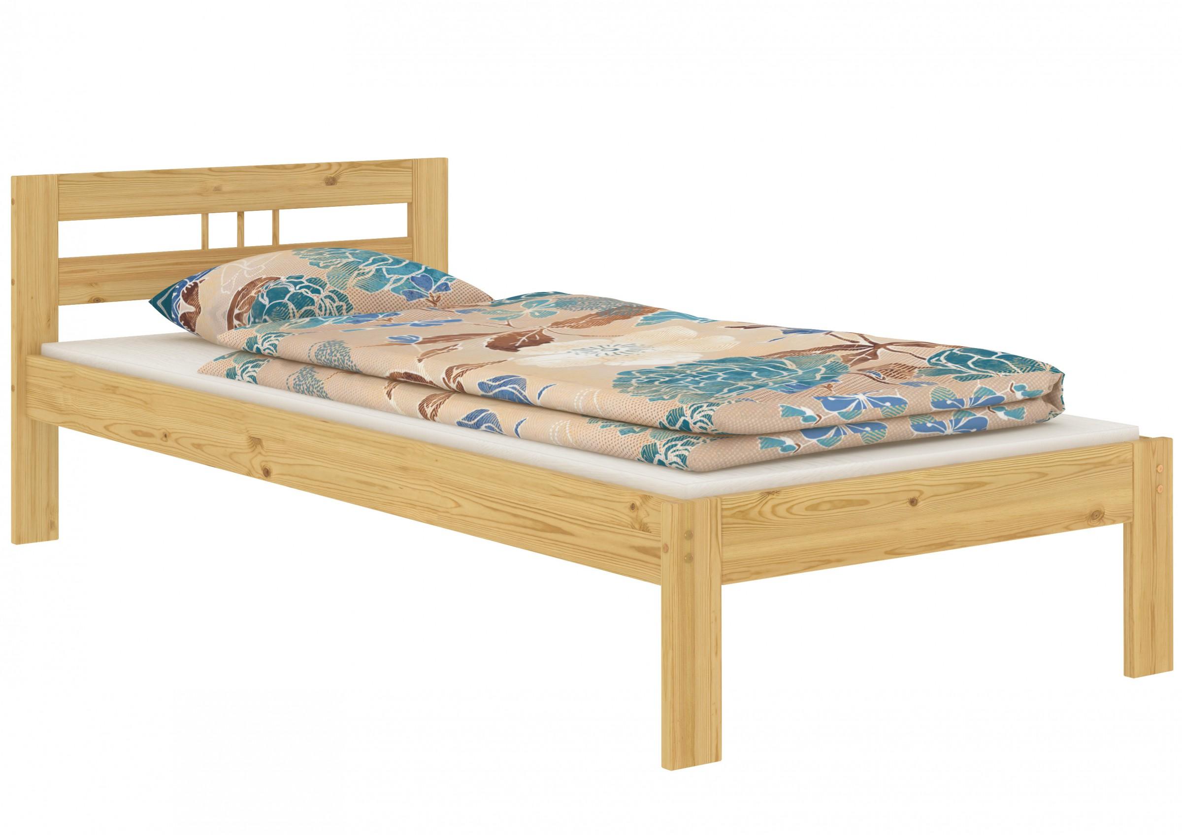 Cuna talla corta fut n cama pino 90x190 cama individual for Cama de 60 pulgadas
