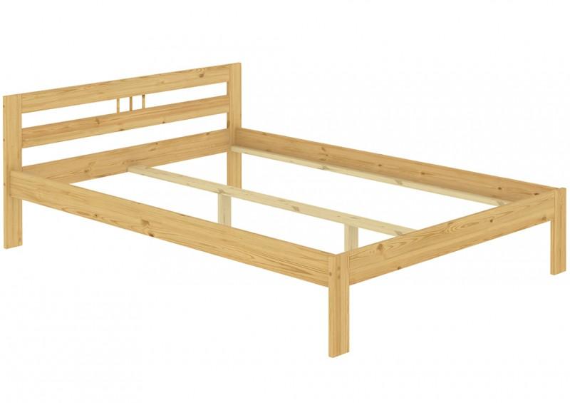 bett doppelbett futonbett kiefer massiv 140x200 cm franz sisches bett ebay. Black Bedroom Furniture Sets. Home Design Ideas