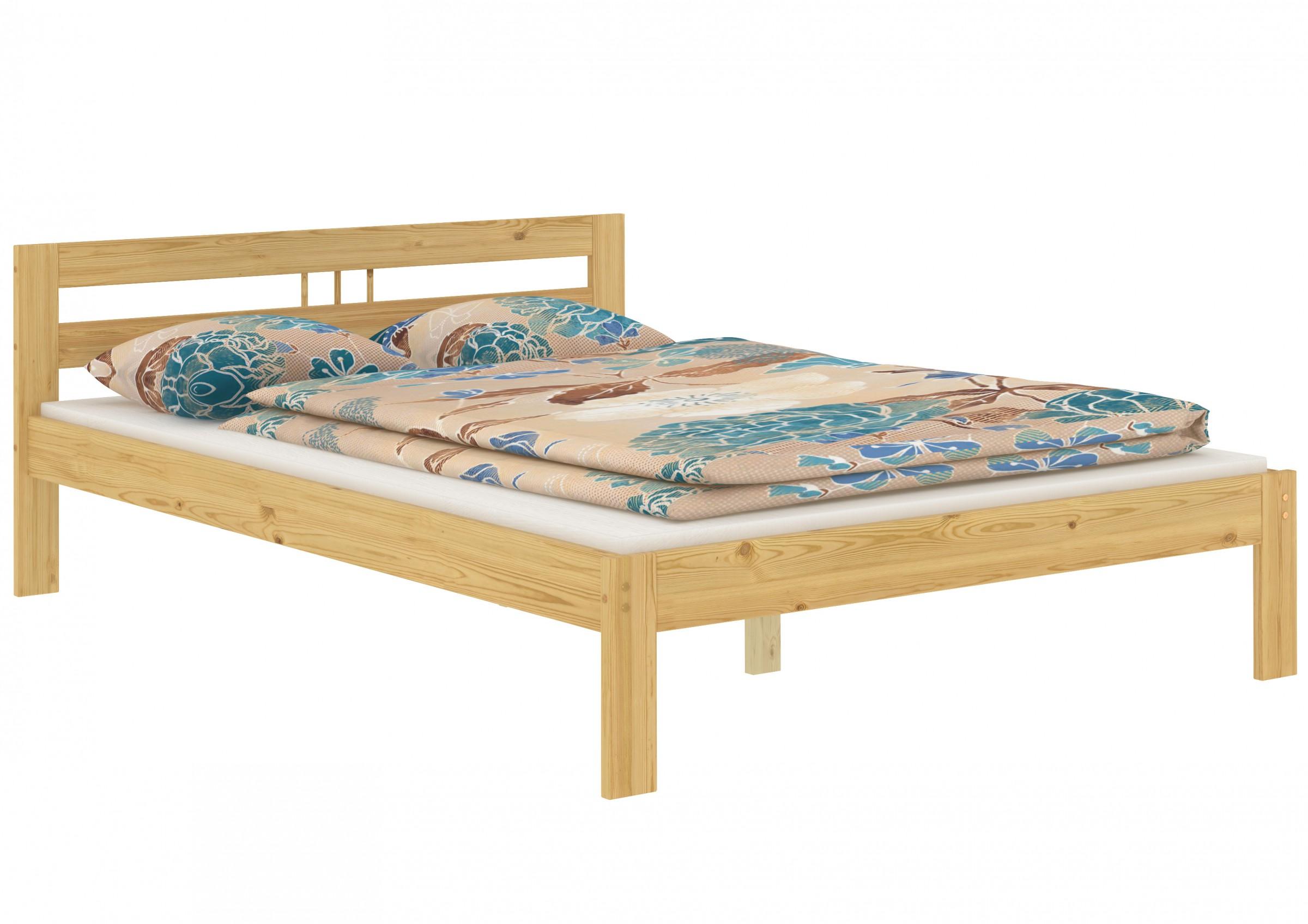 fsn franz sisches bett kiefer massiv 140x200 cm. Black Bedroom Furniture Sets. Home Design Ideas