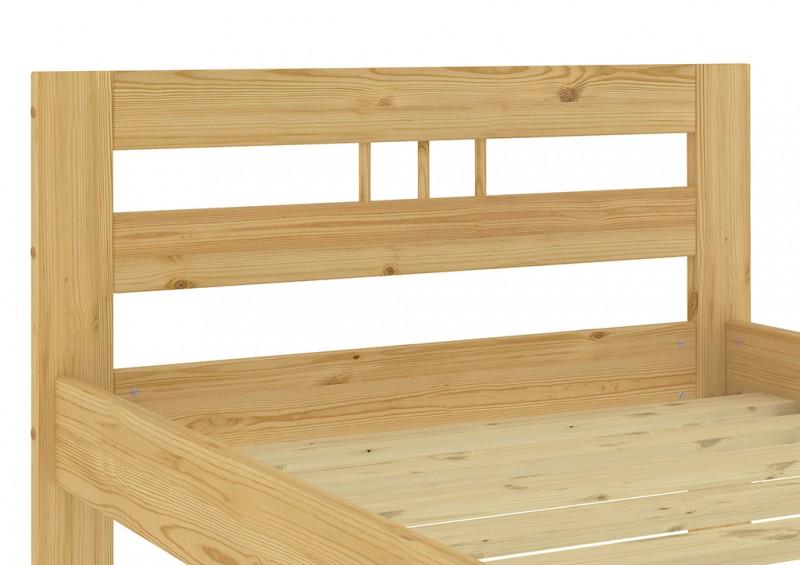 massivholzbett franz sisches bett 140x200 bettgestell ohne. Black Bedroom Furniture Sets. Home Design Ideas