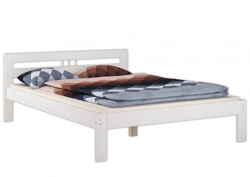 einzelbett weiss bettgestell kiefer massiv bett 120x200. Black Bedroom Furniture Sets. Home Design Ideas