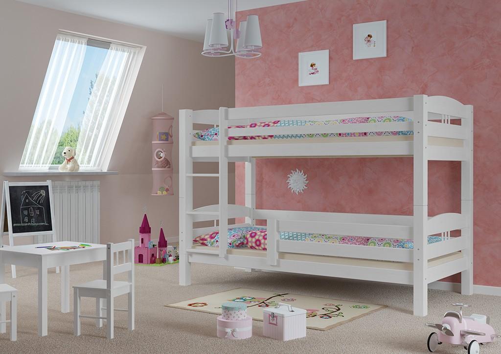s curit enfants lit b b blanc lits superpos s pour de dessous lit kisi 09 10 w ebay. Black Bedroom Furniture Sets. Home Design Ideas