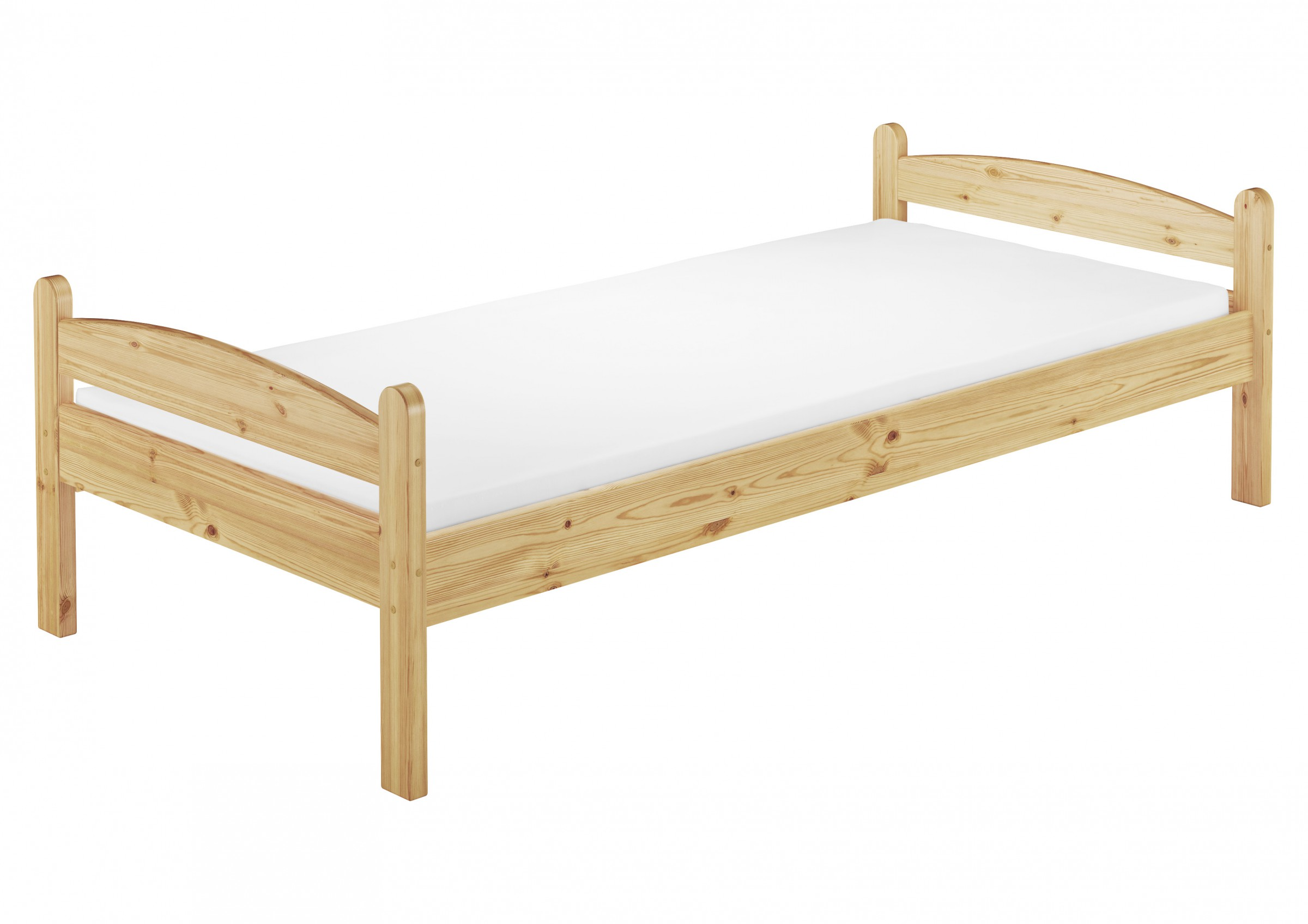 m bett kiefer massiv extra stabil 80x200 cm mit rollrost ebay. Black Bedroom Furniture Sets. Home Design Ideas