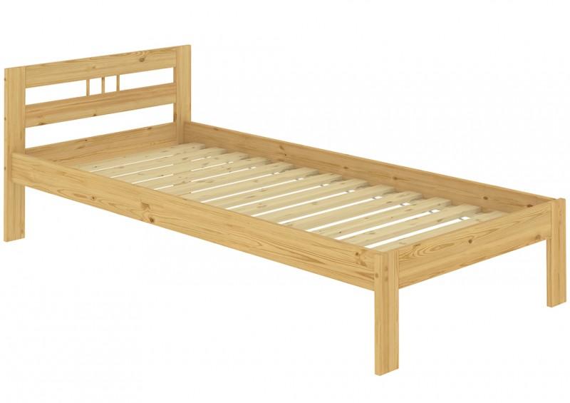 jugendbett kiefer massivholz 100x200 cm futon einzelbett mit rollrost ebay. Black Bedroom Furniture Sets. Home Design Ideas