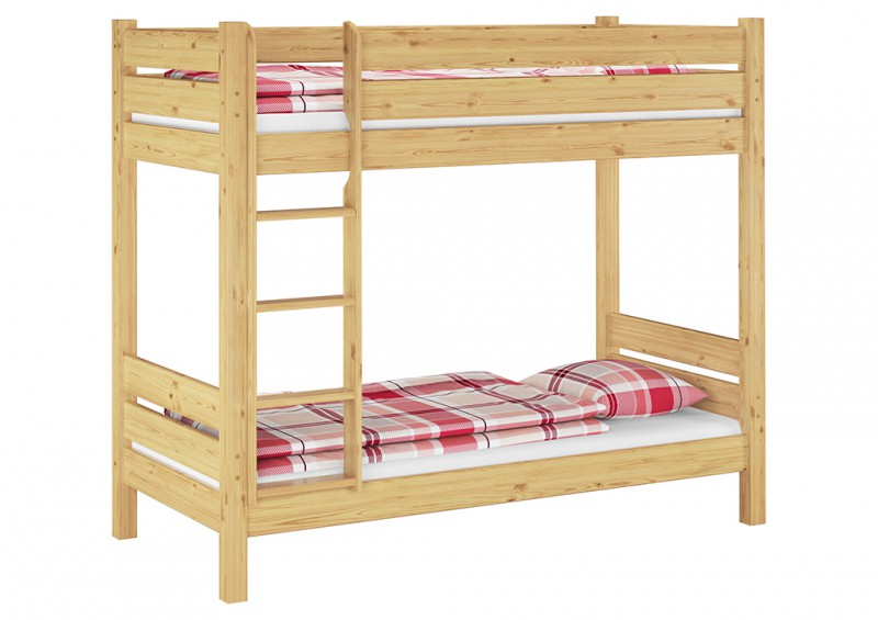 etagenbett hochbett stockbett massivholz 90x200 extra stabil or ebay. Black Bedroom Furniture Sets. Home Design Ideas