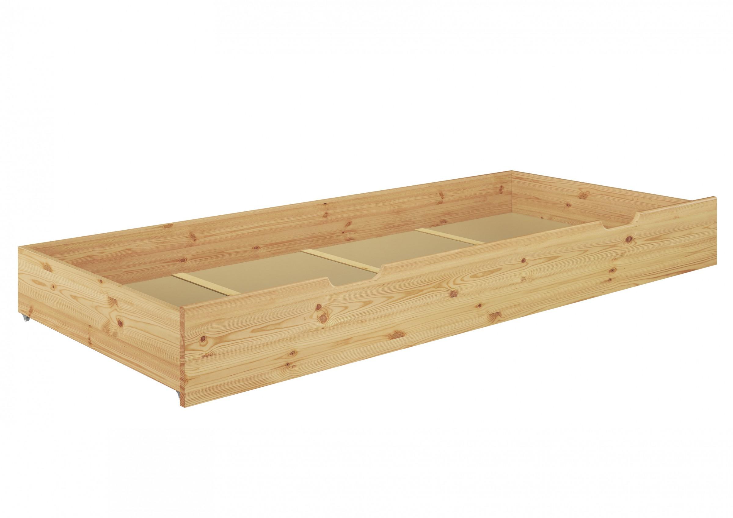seniorenbett hoch bettkasten 100x200 kiefer holzbett einzelbett s4 ebay. Black Bedroom Furniture Sets. Home Design Ideas