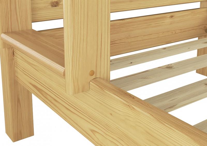 etagenbett hochbett doppelbett stockbett ohne lattenrost 80x200 holz or ebay. Black Bedroom Furniture Sets. Home Design Ideas