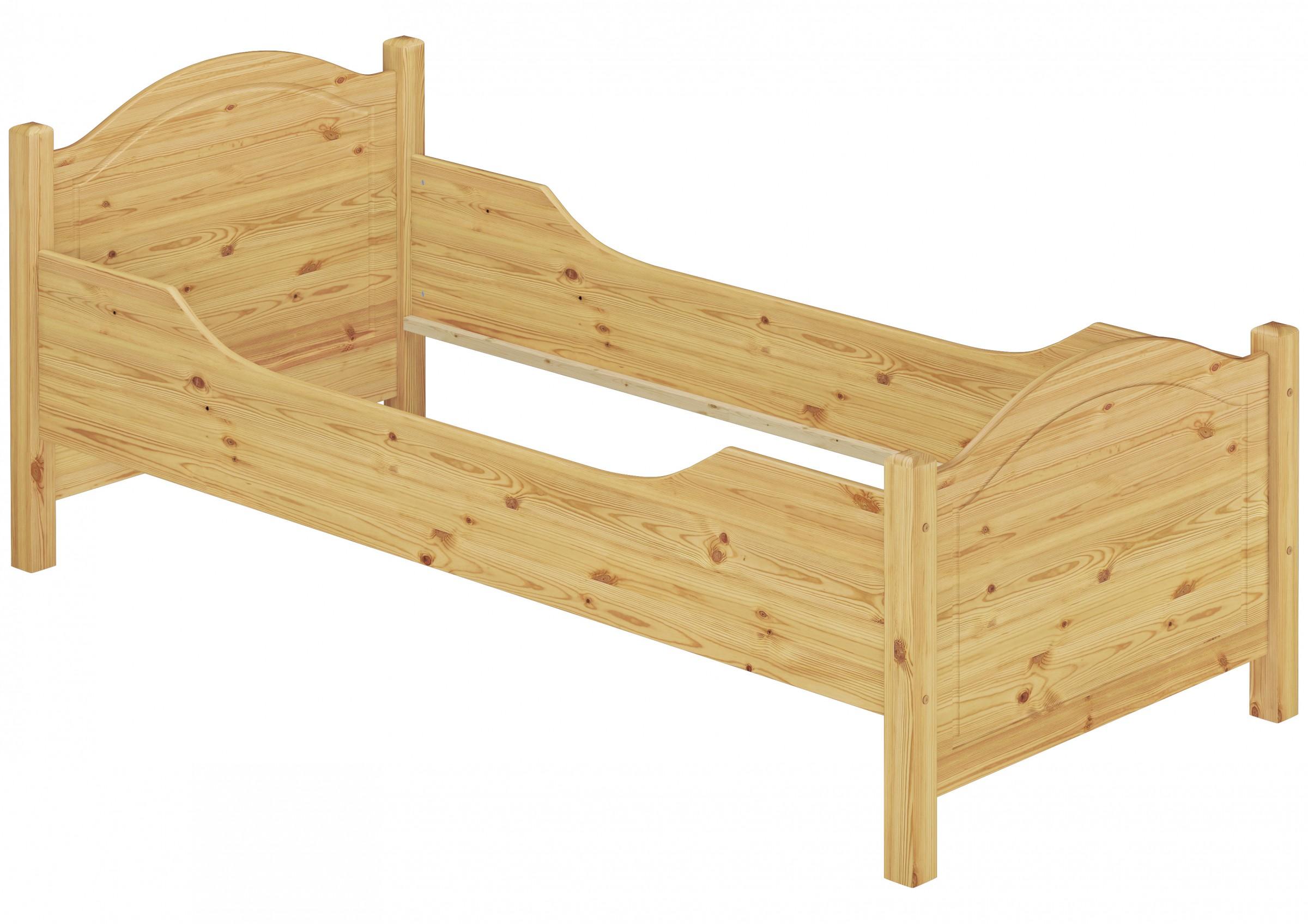 seniorenbett extra hoch 90x200 einzelbett g stebett kiefer massiv or ebay. Black Bedroom Furniture Sets. Home Design Ideas