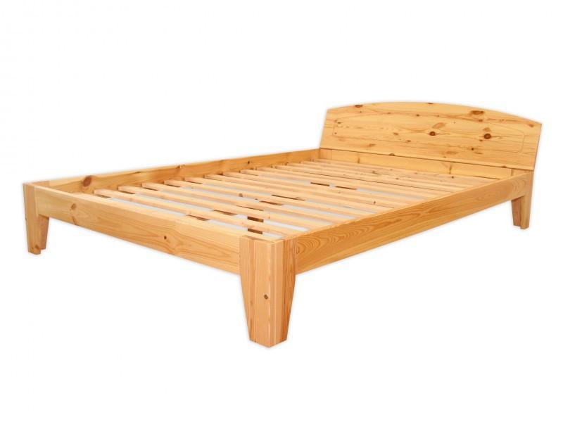 doppelbett holzbett franz sisches bett kiefer massiv 140x200 rollrost ebay. Black Bedroom Furniture Sets. Home Design Ideas