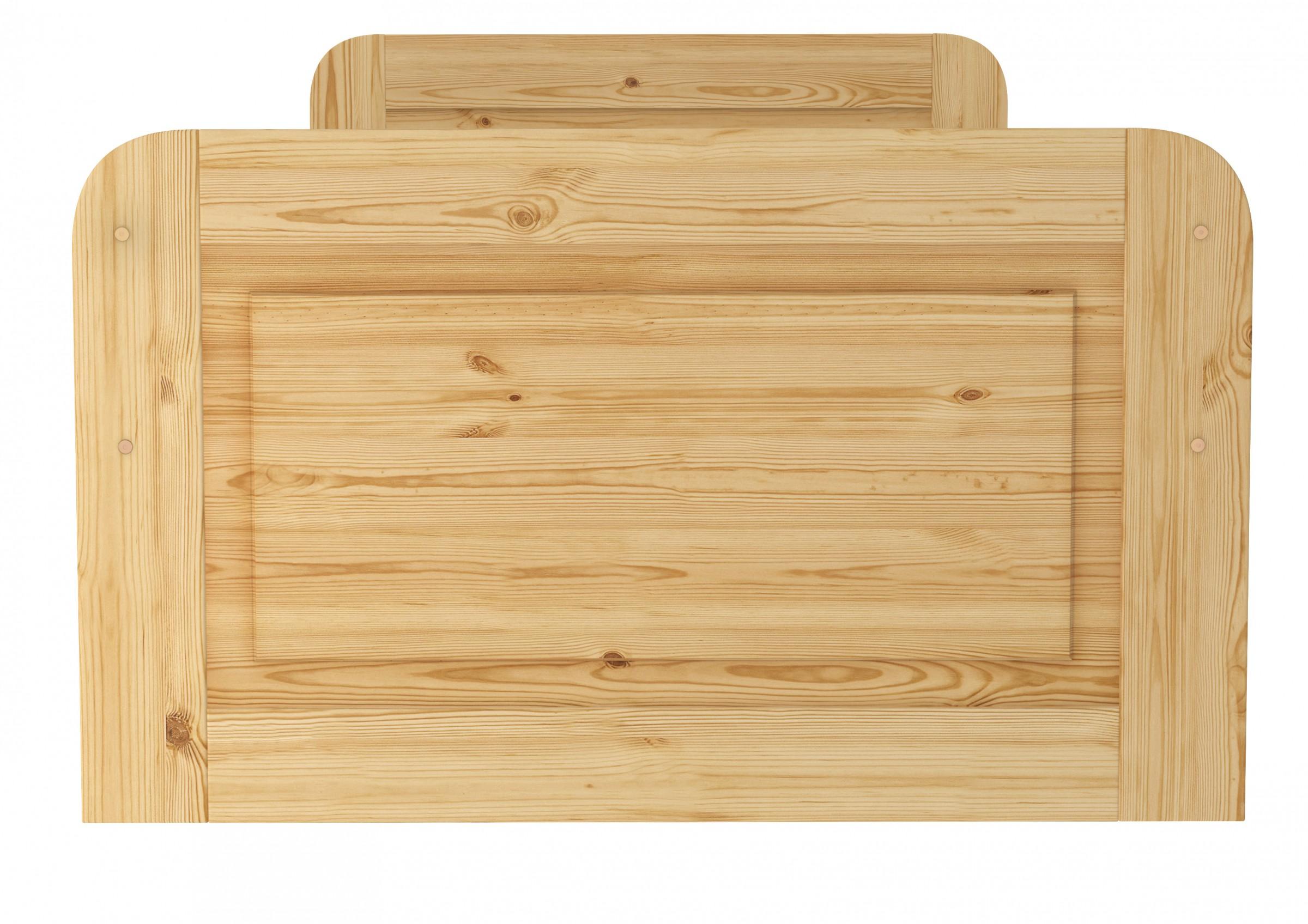 seniorenbett extra hoch 100x200 einzelbett holzbett massivholz bett or. Black Bedroom Furniture Sets. Home Design Ideas