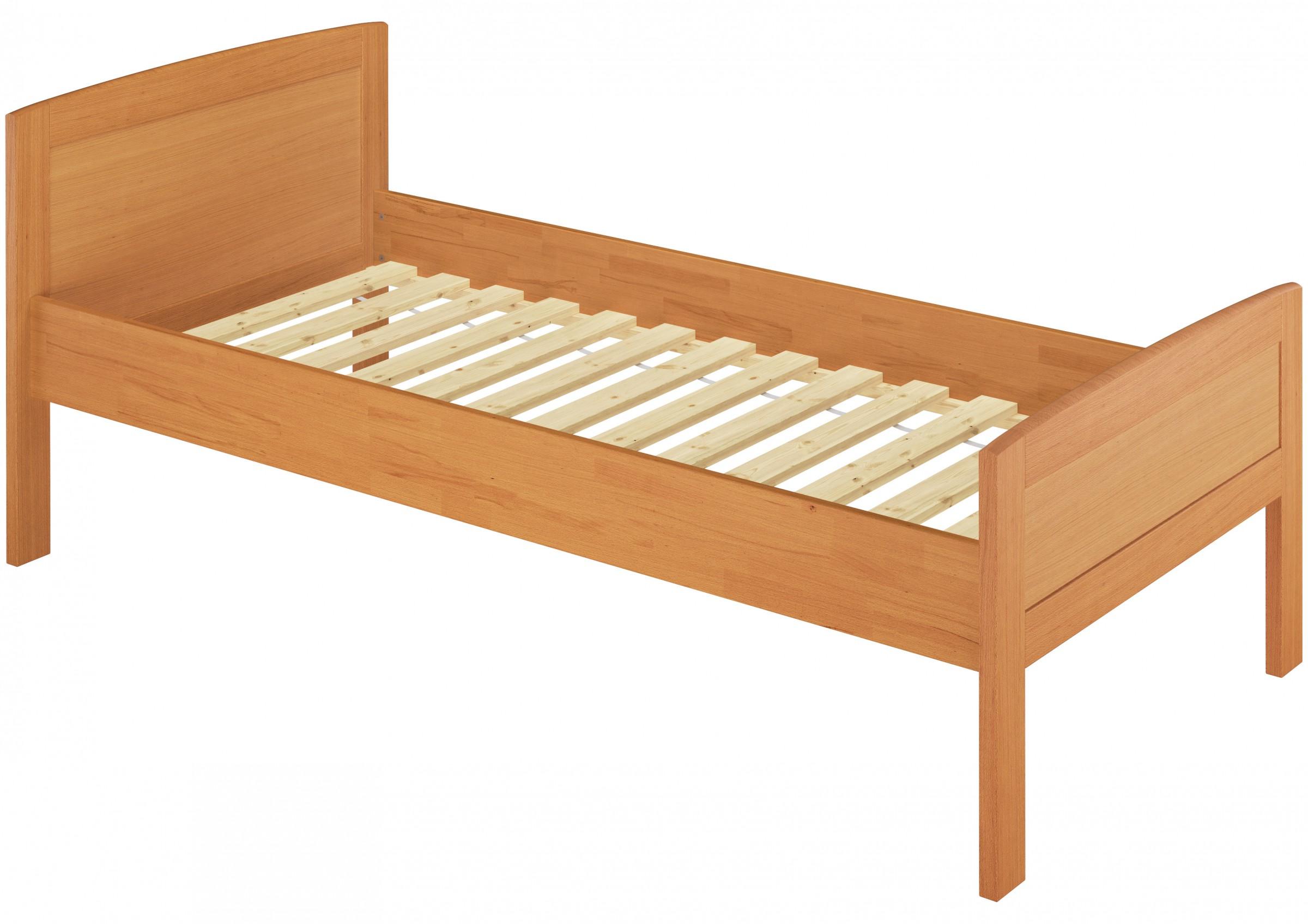 seniorenbett buche extra hoch 120x200 cm mit. Black Bedroom Furniture Sets. Home Design Ideas