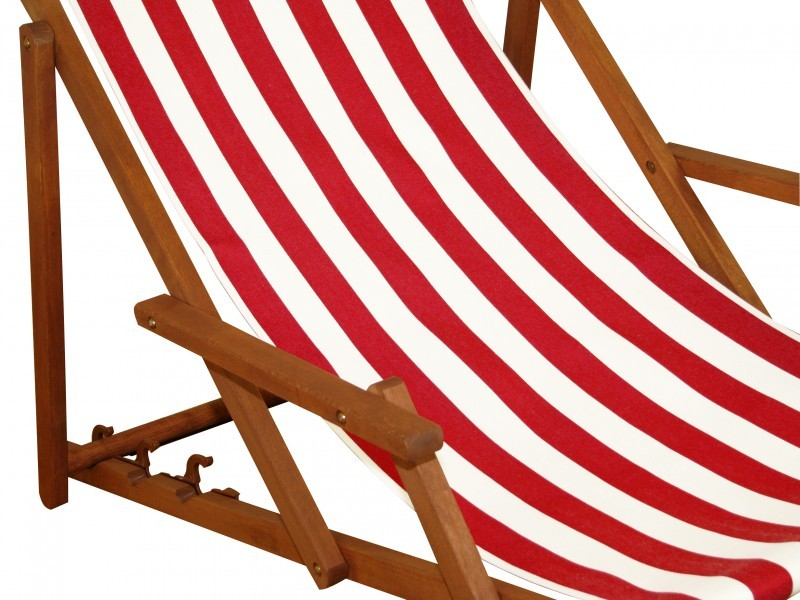 strandstuhl rot wei deckchair gartenliege sonnenliege holz buche massiv 10 314 ebay. Black Bedroom Furniture Sets. Home Design Ideas