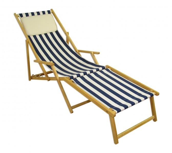 Transat pour jardin chaise longue fauteuil de plage for Transat chaise longue bois
