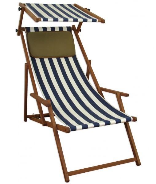 liegestuhl sonnenliege gartenliege deckchair strandliege holzliege 10 317 s kd ebay. Black Bedroom Furniture Sets. Home Design Ideas