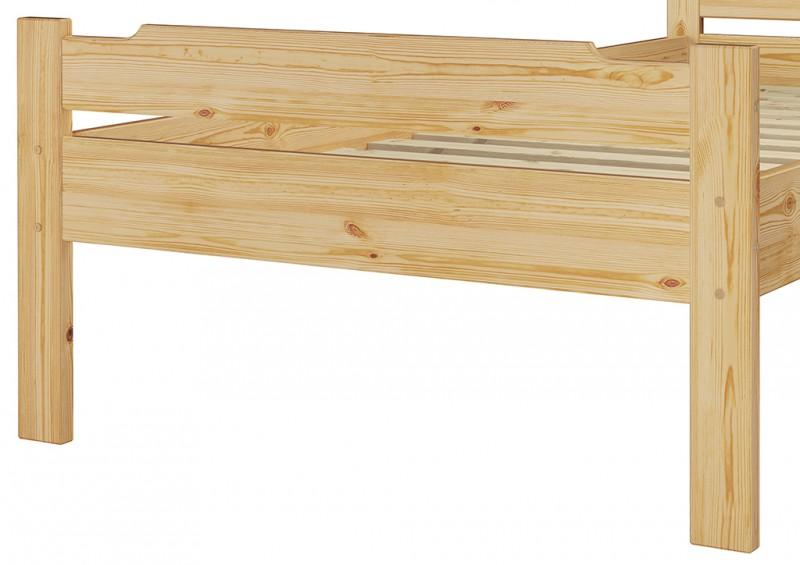 einzelbett jugendbett kiefer massiv 80x200 rollrost bettkasten s5 ebay. Black Bedroom Furniture Sets. Home Design Ideas