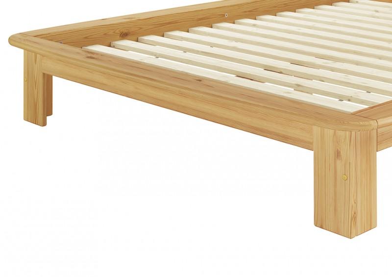 M cama 140x200 cm compl con listones y colch n for Cama de 60 pulgadas