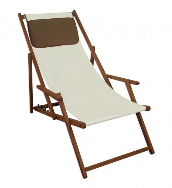 Transat pour jardin blanc chaise longue jardin transat - Coussin pour chaise longue de jardin ...