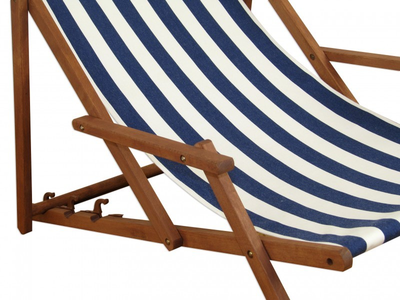 gartenliege holzliege strandliege deckchair holz liegestuhl sonnenliege 10 317 f ebay. Black Bedroom Furniture Sets. Home Design Ideas