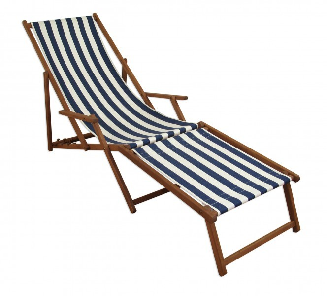 gartenliege holzliege strandliege deckchair holz liegestuhl sonnenliege 10 317 f ebay. Black Bedroom Furniture Sets. Home Design Ideas