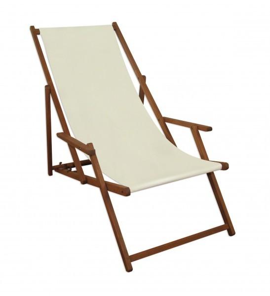 gartenliege wei liegestuhl holz sonnenliege deckchair. Black Bedroom Furniture Sets. Home Design Ideas