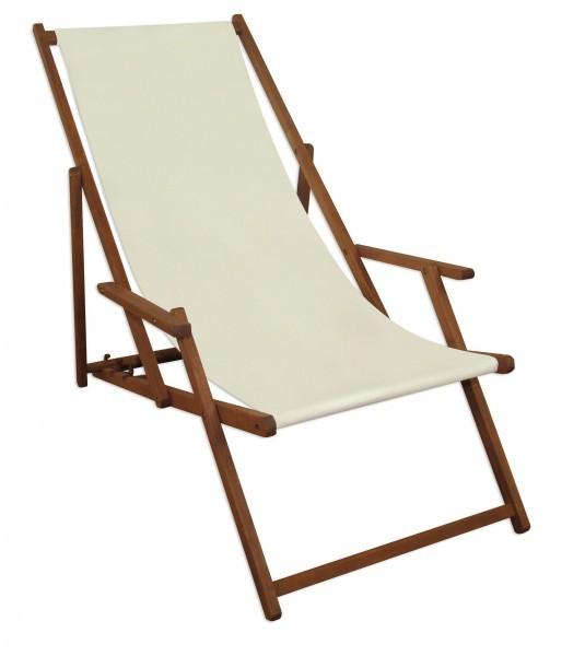 Chaise longue blanc avec pied et table de jardin terrasse for Chaise longue bois avec repose pied