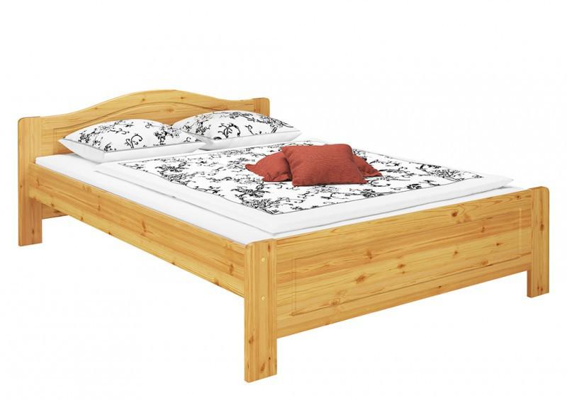 Bett einzelbett seniorenbett kiefer massiv 140x200 for Einzelbett 140x200