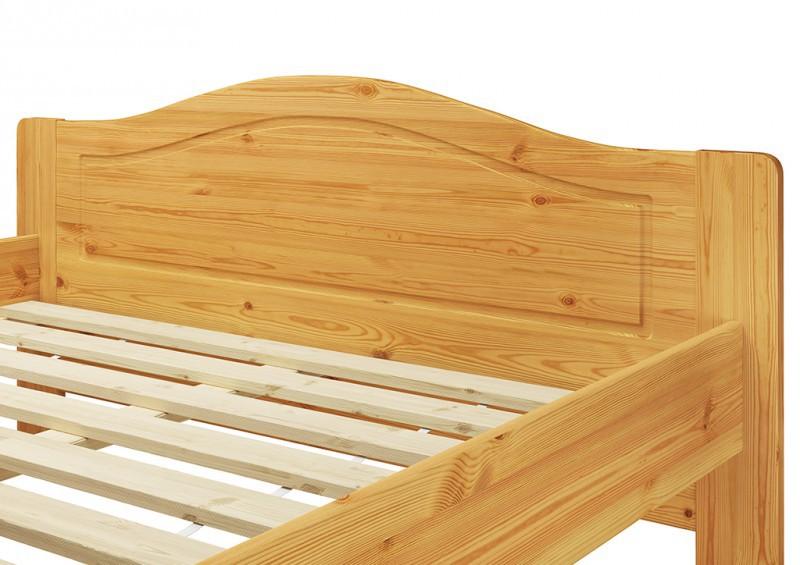 bett einzelbett seniorenbett kiefer massiv 140x200. Black Bedroom Furniture Sets. Home Design Ideas