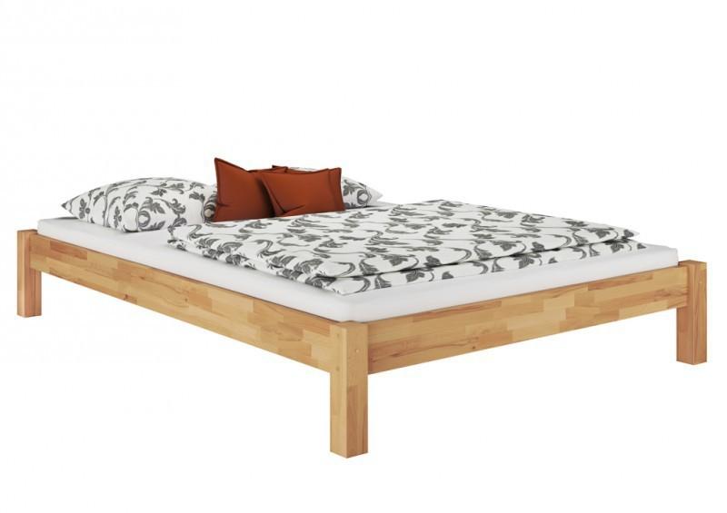 doppelbett berl nge 140x220 buche massiv bettgestell holz futon or ebay. Black Bedroom Furniture Sets. Home Design Ideas