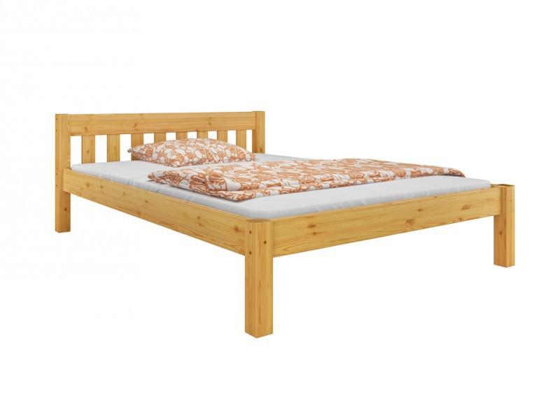 Einzel bett kiefer massivholz bett 120x200 cm jugendbett for Bett 120x200 massivholz